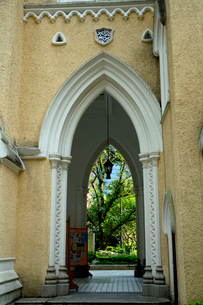 セントジョーンズ教会の建物の写真素材 [FYI02661047]