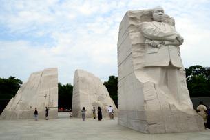 ワシントンD.C.のキング牧師の記念碑の写真素材 [FYI02661062]