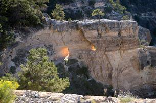 グランドキャニオン国立公園のブライトエンジェルトレイルヘッドからの展望の写真素材 [FYI02661112]