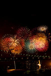 第27回東京湾大華火祭(2015年)の写真素材 [FYI02661128]