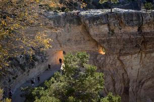 グランドキャニオン国立公園のブライトエンジェルトレイルヘッドからの展望の写真素材 [FYI02661157]