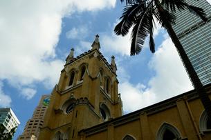 セントジョーンズ教会の建物の写真素材 [FYI02661239]