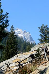グランドティトン国立公園のジェニーレイクのインスピレーションポイントの写真素材 [FYI02661318]