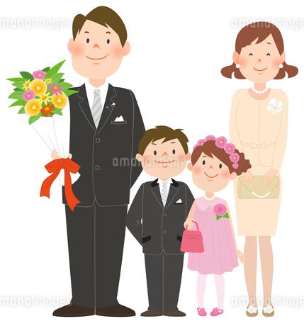家族とお祝いのイラスト素材 [FYI02661423]