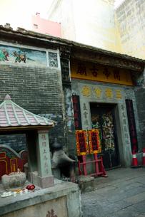 関帝古廟の建物の写真素材 [FYI02661685]