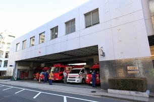 赤坂消防署の写真素材 [FYI02661699]