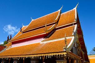 寺院のワット・プラ・タート・ドイ・ステープの写真素材 [FYI02661778]