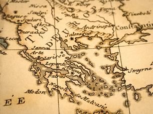 古地図 ギリシャの写真素材 [FYI02662032]