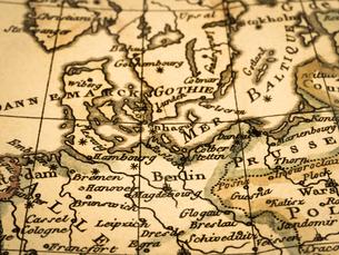 古地図 北ヨーロッパの写真素材 [FYI02662053]