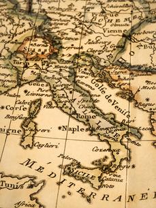 古地図 イタリアの写真素材 [FYI02662059]