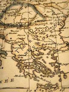 古地図 ギリシャの写真素材 [FYI02662061]