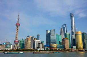 上海の風景の写真素材 [FYI02662271]