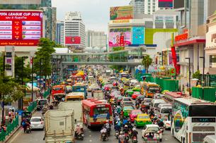 バンコクの渋滞の写真素材 [FYI02662331]