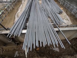 建物の基礎工事の写真素材 [FYI02662376]