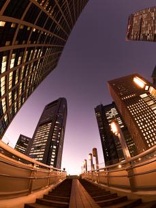 東京都 汐留の高層ビル街の写真素材 [FYI02662407]