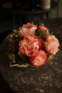 造花のブーケアートフラワーの写真素材 [FYI02662420]