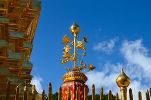 寺院のワット・プラ・タート・ドイ・ステープの写真素材 [FYI02662480]