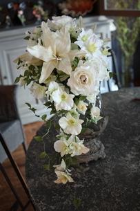 造花のブーケアートフラワーの写真素材 [FYI02662614]