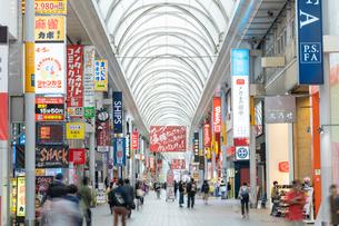 広島市の本通り商店街の写真素材 [FYI02662665]