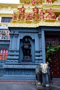 カトン地区のヒンドゥー教寺院のスリセンパガヴィナヤガー寺院の写真素材 [FYI02662722]