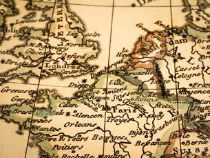 古地図 フランスの写真素材 [FYI02662787]