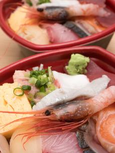 海鮮弁当の写真素材 [FYI02662895]