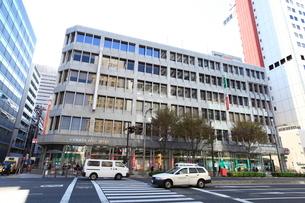 京橋郵便局の写真素材 [FYI02663106]