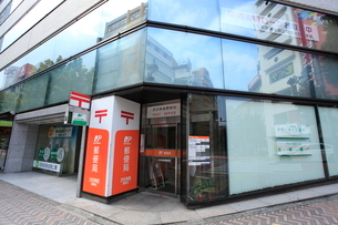 渋谷神南郵便局の写真素材 [FYI02663113]
