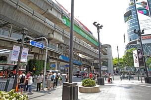 バンコク市内の写真素材 [FYI02663166]