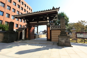 高野山東京別院の写真素材 [FYI02663171]