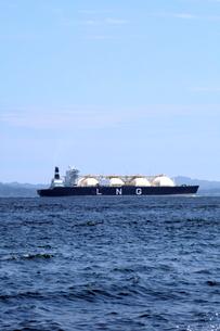 LNG船の写真素材 [FYI02663173]