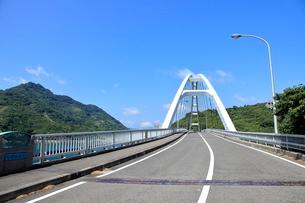安芸灘とびしま海道 中の瀬戸大橋の写真素材 [FYI02663291]