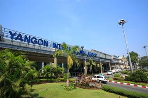 ヤンゴン国際空港 ヤンゴンの写真素材 [FYI02663442]