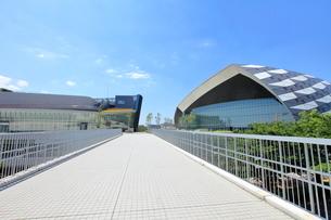 武蔵野の森総合スポーツプラザ 調布市の写真素材 [FYI02663576]