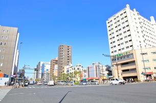 春日町交差点の写真素材 [FYI02663680]
