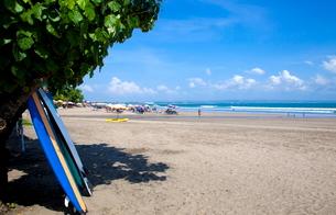 インドネシア バリ島 スミニャックビーチの写真素材 [FYI02663700]