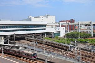 千葉駅前 千葉市の写真素材 [FYI02663779]