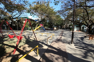 白金児童遊園の写真素材 [FYI02663853]