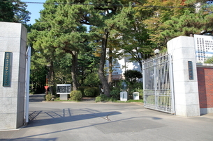 武蔵野大学武蔵野キャンパスの写真素材 [FYI02663919]