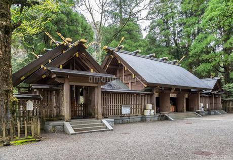 天岩戸神社西本宮拝殿の写真素材 [FYI02664286]