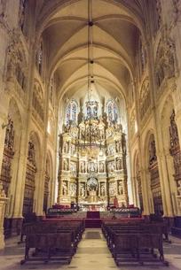 ブルゴス大聖堂内部礼拝堂の写真素材 [FYI02664306]