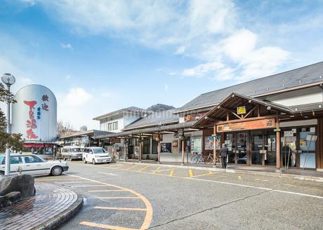 JR東海下呂駅風景の写真素材 [FYI02664455]