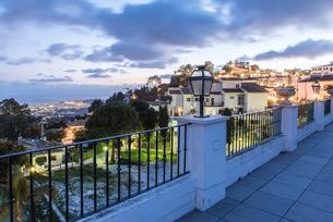 ミハスより地中海方面の夜景を見る風景の写真素材 [FYI02664460]
