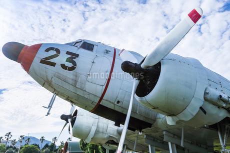 海上自衛隊鹿屋航空基地屋外展示機の写真素材 [FYI02664518]