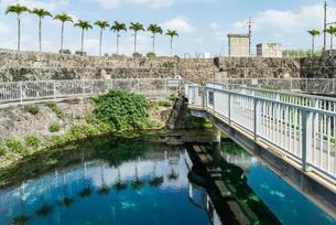 宮古島の地下ダム資料館水位観測施設の写真素材 [FYI02664880]
