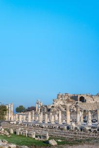 エフェソス遺跡風景の写真素材 [FYI02664892]
