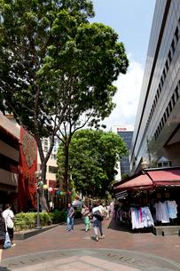 シンガポール ブギスエリアのアルバートストリートの写真素材 [FYI02665041]