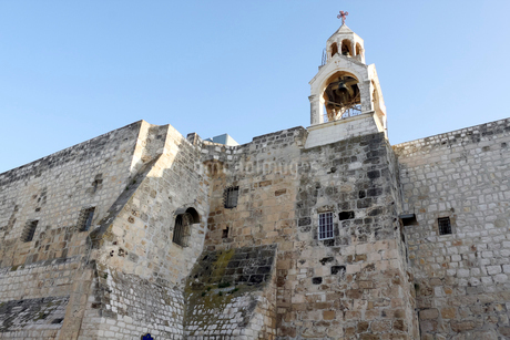 パレスチナ ベツレヘムの聖誕教会の写真素材 [FYI02665119]