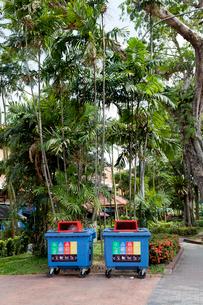 シンガポール、リサイクルボックスの写真素材 [FYI02665121]