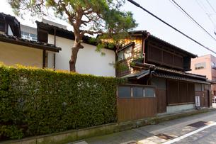 石川県 金沢 泉鏡花記念館の写真素材 [FYI02665133]